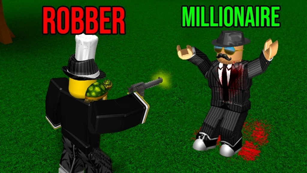 Stealing Cash From A Millionaire Get Rich Roblox Bloxburg